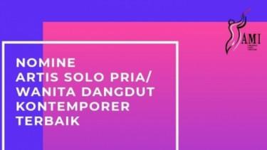 AMI Awards 2019, Nominasi Artis Solo Dangdut Kontemporer Terbaik