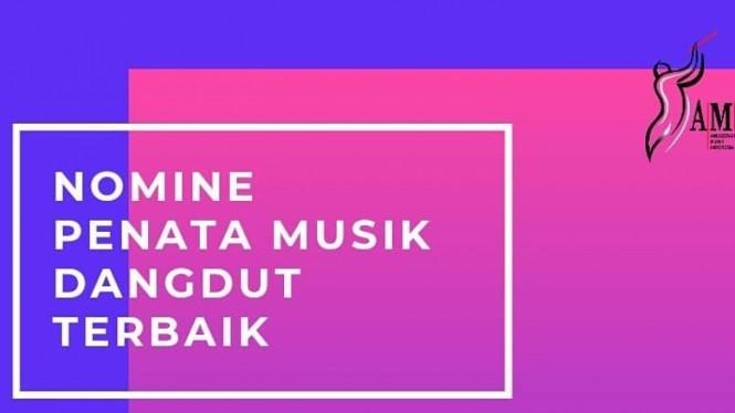 AMI Awards 2019, Nominasi Penata Musik Dangdut Terbaik