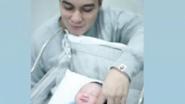 Anak Baim Wong Tidur Mulu, Kristina : Ciumin Biar Nggak Bobo!