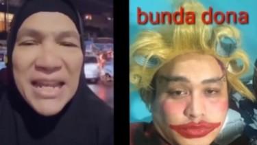 Heboh! Dorce Gamalama Sindir Konten 'Bunda Dona' Presenter LIDA