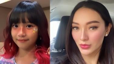 Foto Zaskia Gotik & Anak Dihujat: Gatau Malu Senang Diatas Sedih Aqila