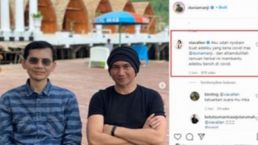 Geger, Klarifikasi Via Vallen Terkait Obat Covid-19 di Instagram Anji