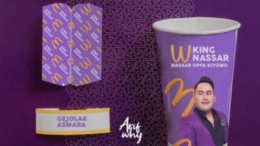 Tak Kalah Viral dengan BTS Meal, King Nassar Meal Bikin Geger