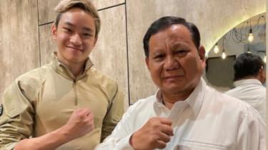 Heboh! Prabowo Tawari Putra Deddy Corbuzier & Kalina Gabung Militer