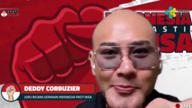 Soal Covid-19, Deddy Corbuzier Bicara Lewat Indonesia Pasti Bisa
