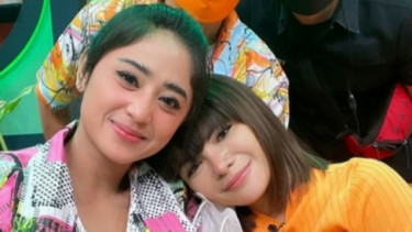 Potret Dinar Candy Bersama Dewi Perssik Disorot Netter