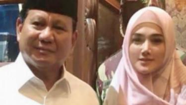 Mulan Jameela dan Prabowo Subianto